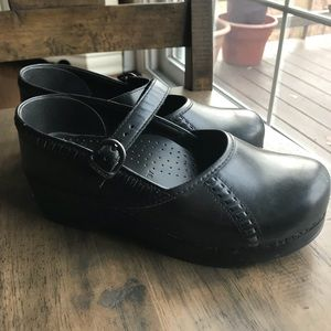 Mary Jane style DANSKO clogs